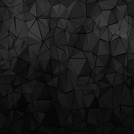Schwarzer geometrischer Hintergrund
