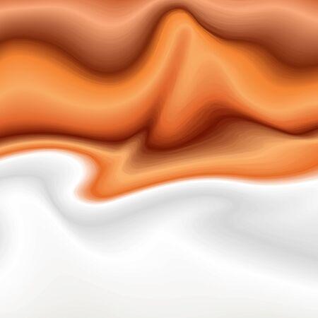 Caramel and Milk Background Çizim