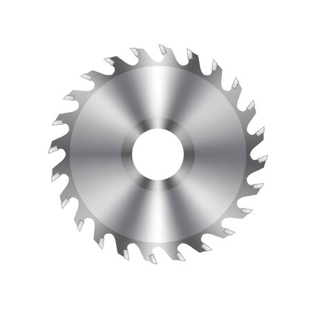 Vector Metal Circular Saw Icon 일러스트