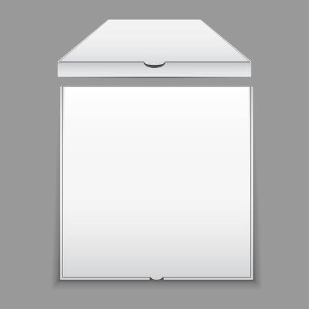 Blank Pizza Box Mockup
