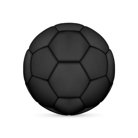 Black Soccer Ball