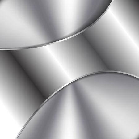 Abstract Vector Steel Background withMetal Shape on Top Standard-Bild - 130027768