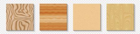 Set of Seamless Wood Backgrounds Çizim