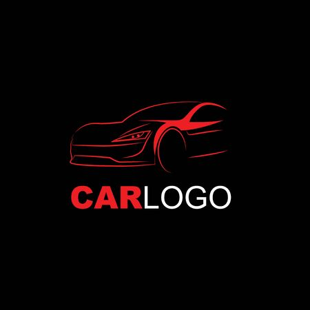 Car Logo in black