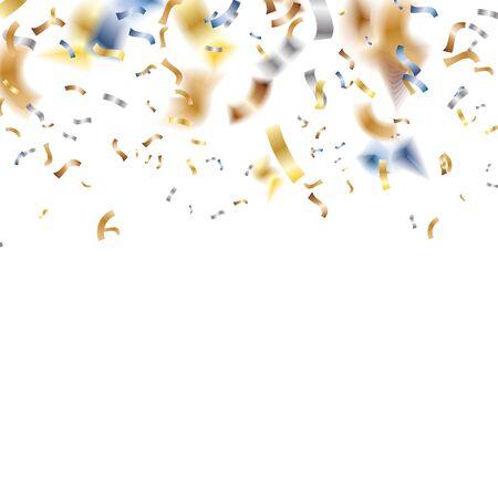 Birthday Confetti on white