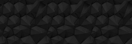 Seamless Black texture pattern
