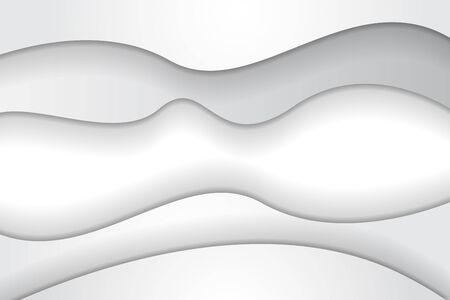 White Modern wave design