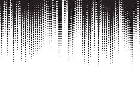 Black and White Halftone  Texture