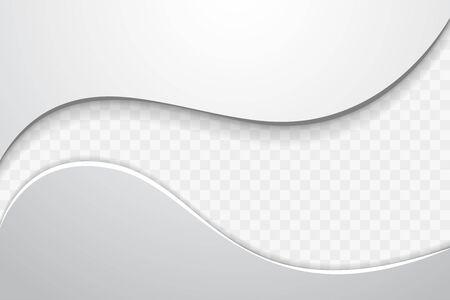 Abstract Wave Design Element. Illustration