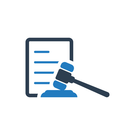 Attractive and Faithfully Designed Law Icon