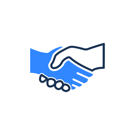 Attractive and Faithfully Designed Handshake Icon