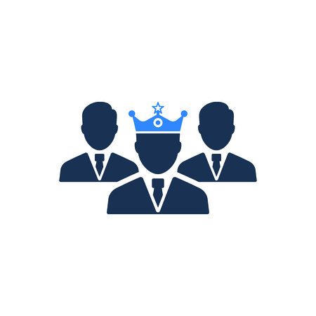 Attractive and Faithfully Designed Business Leadership Icon