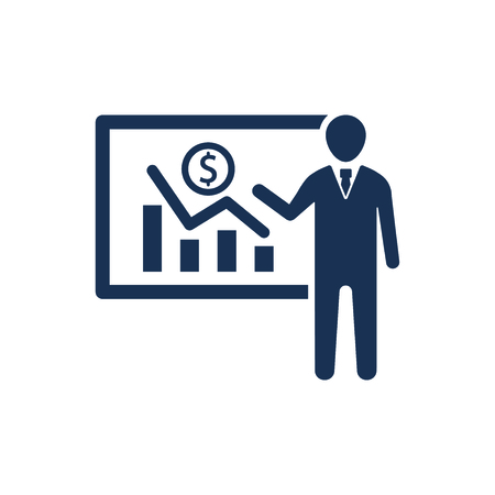 Attractive and Faithfully Designed Business Presentation Icon