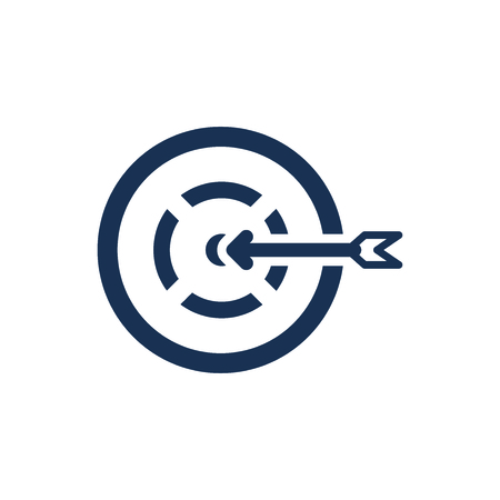Attractive and Faithfully Designed Business Target Icon