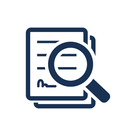 Attractive and Faithfully Designed Search Document Icon