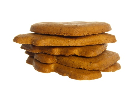 A stack of ginger bread. Stock Photo