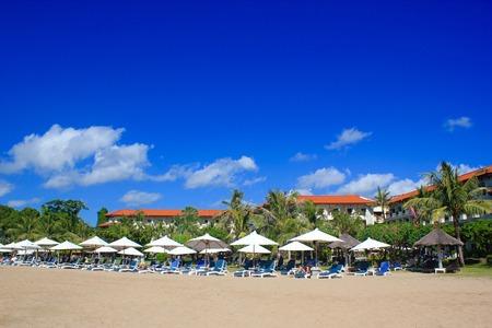 beach panorama: beach Panorama Stock Photo