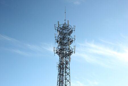 light transmission: Signal Tower Stock Photo
