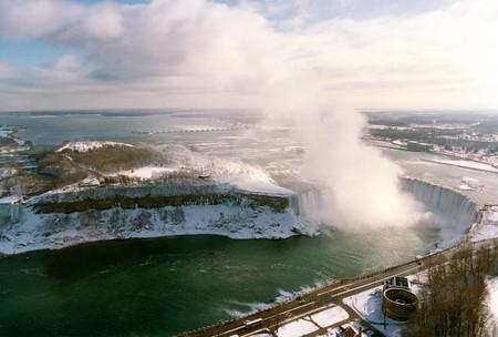 Niagara Falls in Winter Stok Fotoğraf