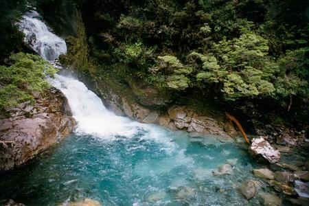 Waterfall Near Milford Sound
