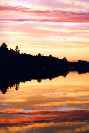 Sunset on Lake Muskoka