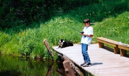 Fishing at the Cottage