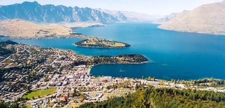Queenstown, New Zealand Banco de Imagens