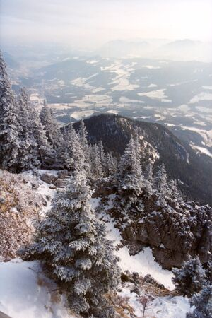 Austrian Alps in Wintertime