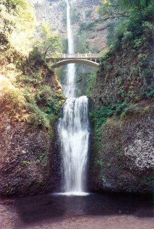 Multnomah Falls Banco de Imagens