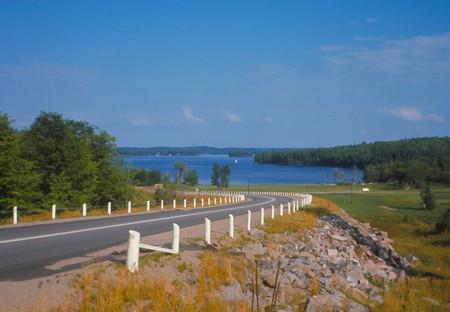 Ontario Highway Banco de Imagens