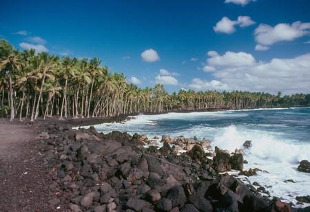 Kalapana Black Sand Beach