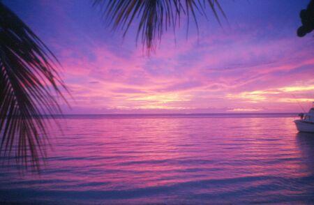 Jamaican Sunset Banco de Imagens