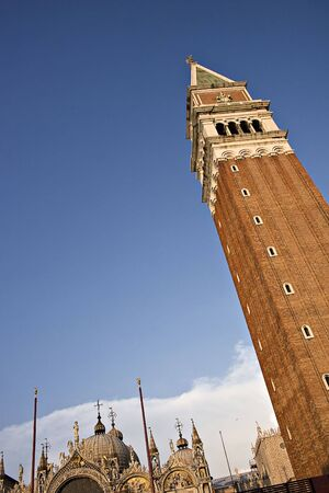 San Marco Tower in Venice, Italy photo