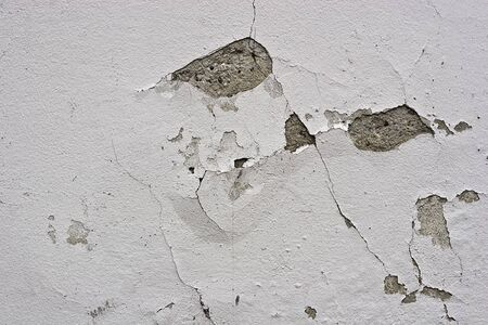 flaking: old flaking color on a wall