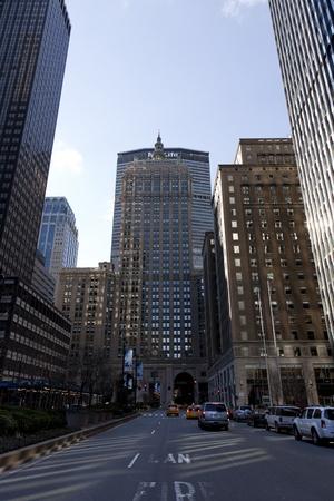 New York City, New York, January 2nd, 2012, The Helmsley Building on Park Avenue, Manhattan
