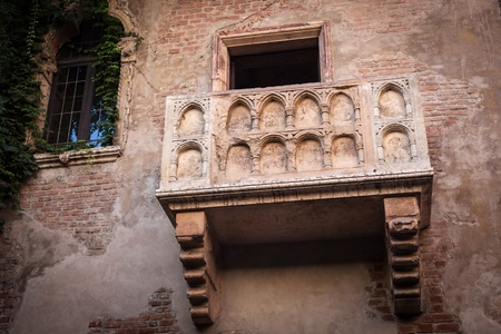 romeo and juliet: Famous tourist attraction, Romeo and Juliet Stock Photo