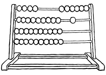 subtraction: Abacus