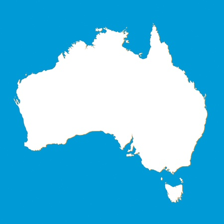 map of australia: Map of the Australia