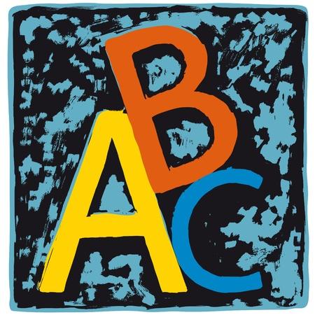 ABC Stock Vector - 10510967