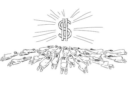 greedy: idolatry