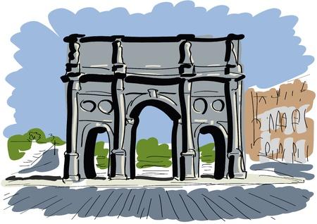 roma antigua: Arco de Constantino