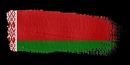 belarus: Brushstroke Flag Belarus