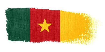 graphing: Brushstroke Flag Cameroon