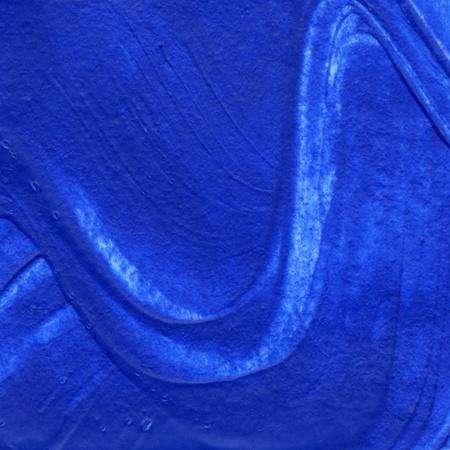 curvilinear: blue fingerpaint Stock Photo