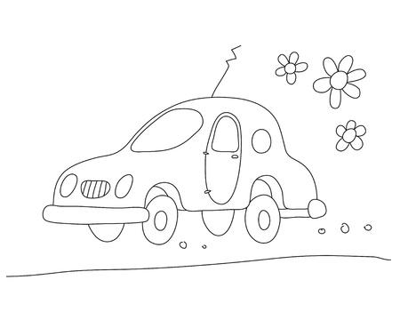 Eco-car Stock Vector - 10545701