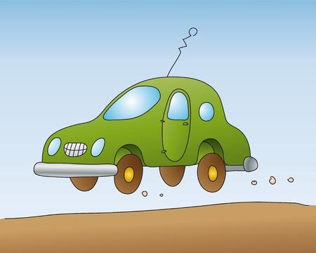 ruchome: Å'adny samochodu