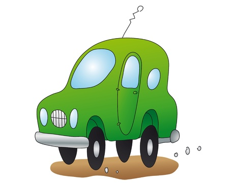 fast driving: nice car