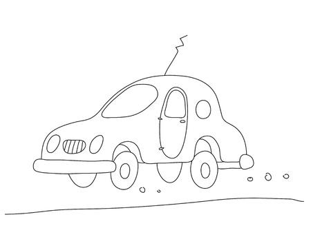 nice car Vector