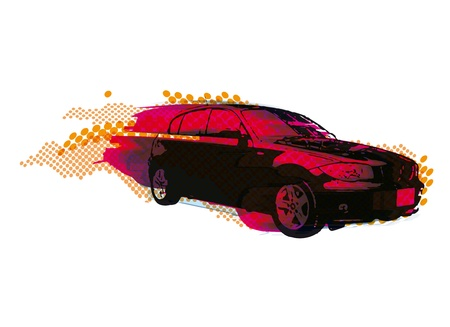 cars racing: fast car