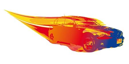 fast driving: fast car